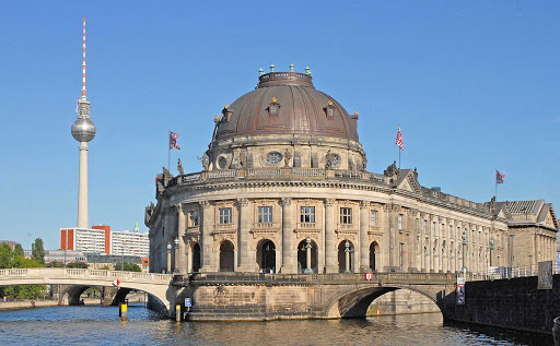 The Bode Museum boasts a large collection of sculptures and one of the world's largest numismatic collections. It's on Museum Island in Berlin, a UNESCO National Heritage Site.