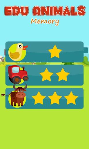 Edu Animals Memory - Kids Game