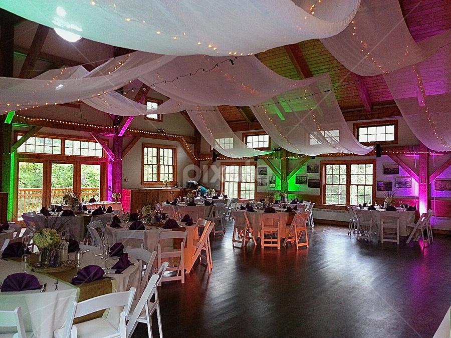 Luminosity Light and Sound Wedding  by Charlie Marcus - Wedding Reception ( lighting, event, wedding )