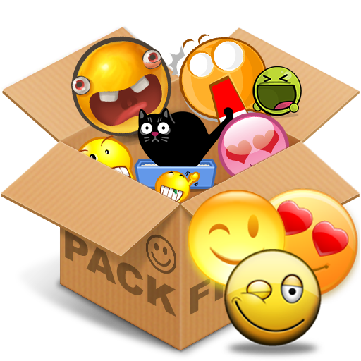 Emoticons pack, Yellow simple