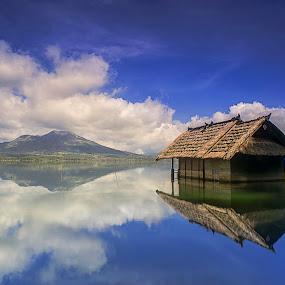 In to The Blue by Bayu Adnyana - Landscapes Travel ( kintamani, balilandscaper, batur, lake, landscapes,  )