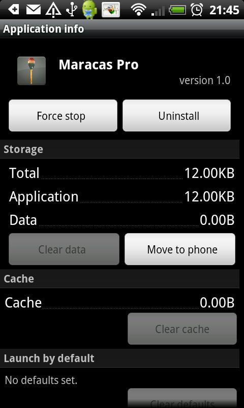 Maracas Pro- screenshot