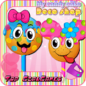 Candy cake pop decoration shop icon