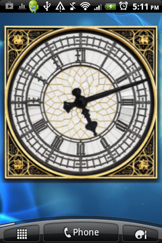 Big Ben Clock Widget- screenshot
