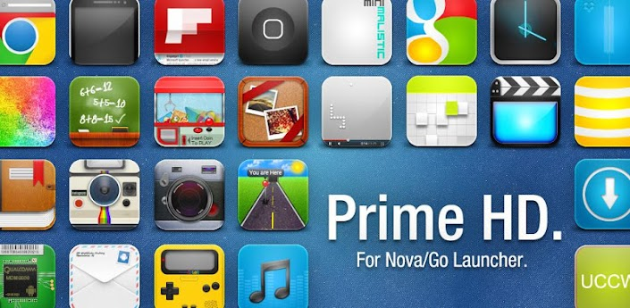 Prime HD for Nova Go Launcher 1.2
