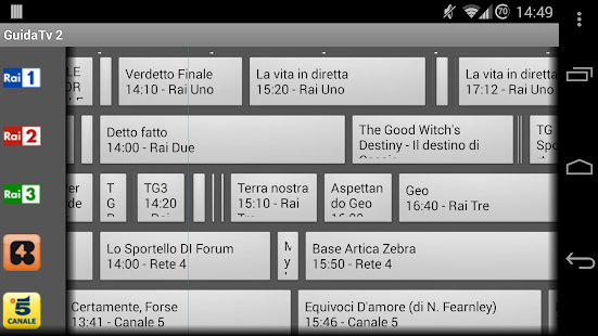 Guida Tv 2 PRO - screenshot thumbnail