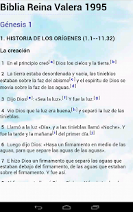 Biblia Reina Valera 1995 - screenshot thumbnail