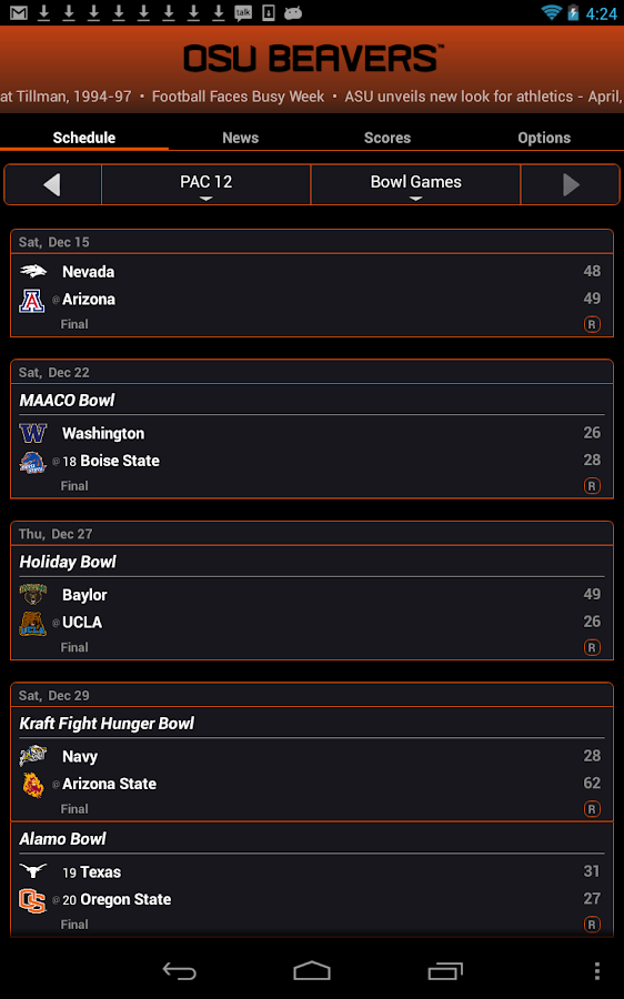 Oregon State Live Clock- screenshot