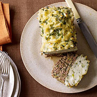 Mashed Potato-Topped Meatloaf.