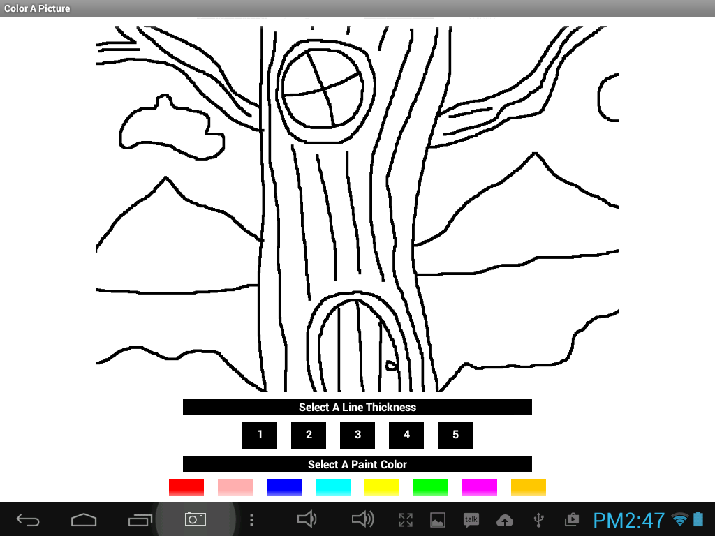 Color A Picture- screenshot