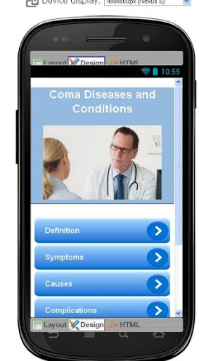 COMA Disease Symptoms