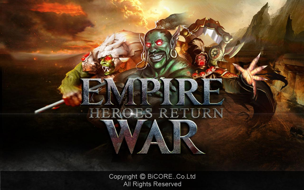 Empire War Heroes Return - screenshot