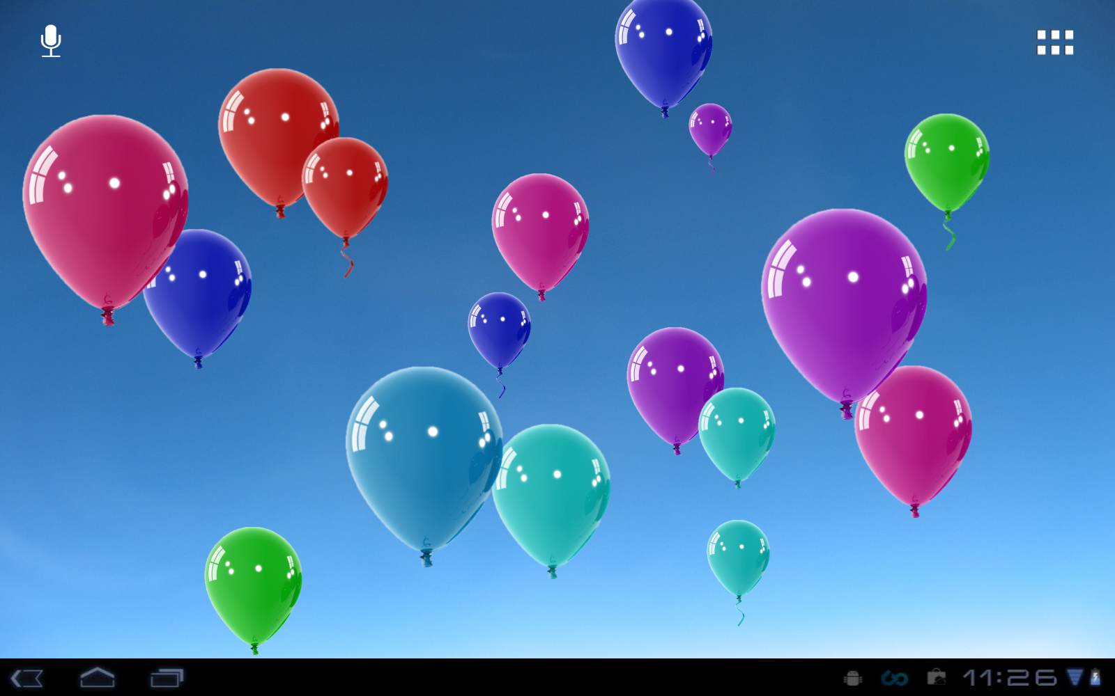 balloons live wallpaper - google play store revenue & download