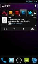 BlingBoard: Social Widget Screenshot 2