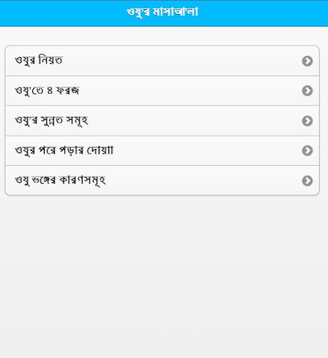 Wudu - Bangla