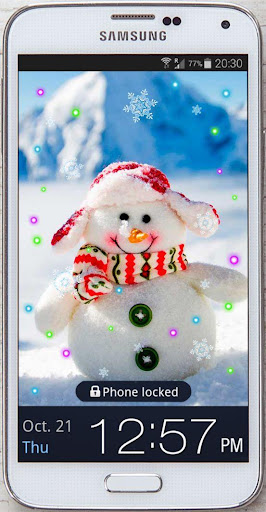 Snowman Cool live wallpaper