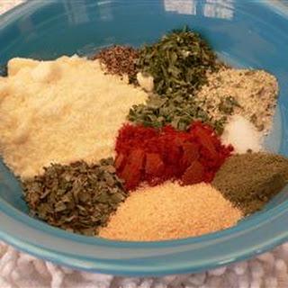 Misti's Dried Herb Salad Seasoning.
