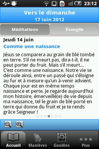 Vers Dimanche- screenshot