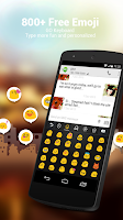 Screenshot of Danish for GO Keyboard - Emoji