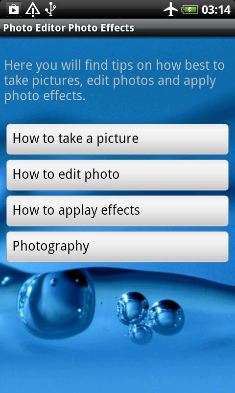 Photo Editor Photo Effects- screenshot