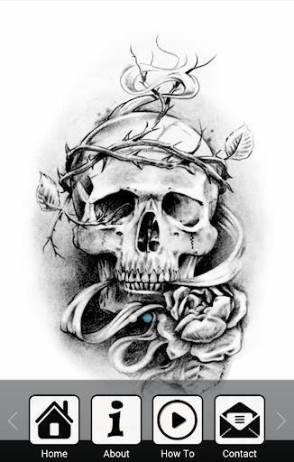 玩生活App|繪製TATTO頭骨免費|APP試玩