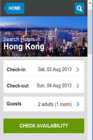 Hotel HK 80 off