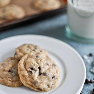 Mini Coconut Chocolate Chip Cookies.