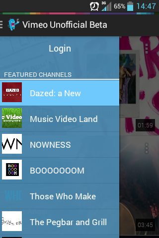 Chromecast for Vimeo Beta