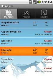 OnTheSnow Ski & Snow Report Screenshot 9