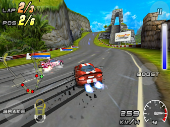 Raging Thunder 2 - FREE APK screenshot thumbnail 4