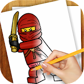 Learn to Draw Lego Ninjago APK for Bluestacks