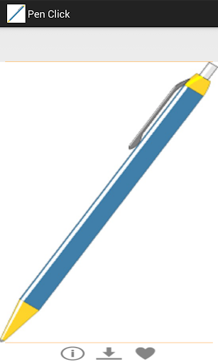 Pen Click-Motion Sensor Sound