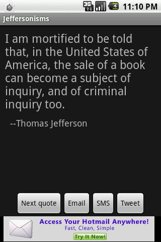 Jeffersonisms - screenshot