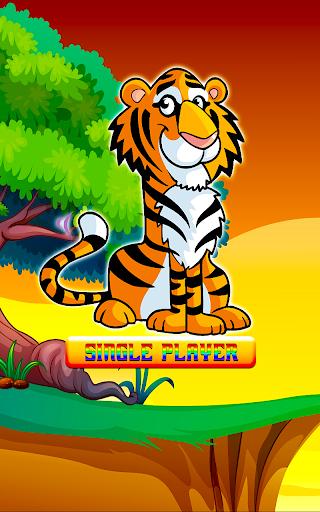 Jungle Tiger Match 3 Puzzle