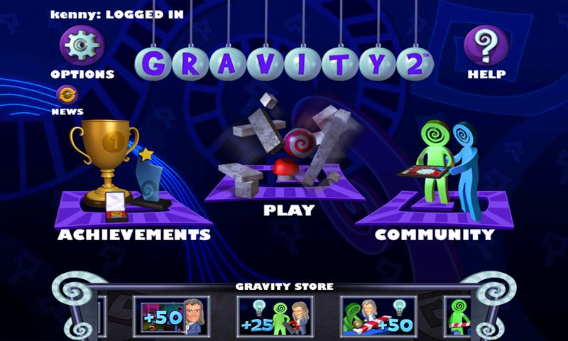 Isaac Newton's Gravity 2 - screenshot