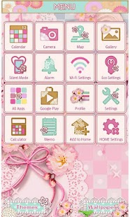 Japanese Lace Wallpaper Theme- screenshot thumbnail