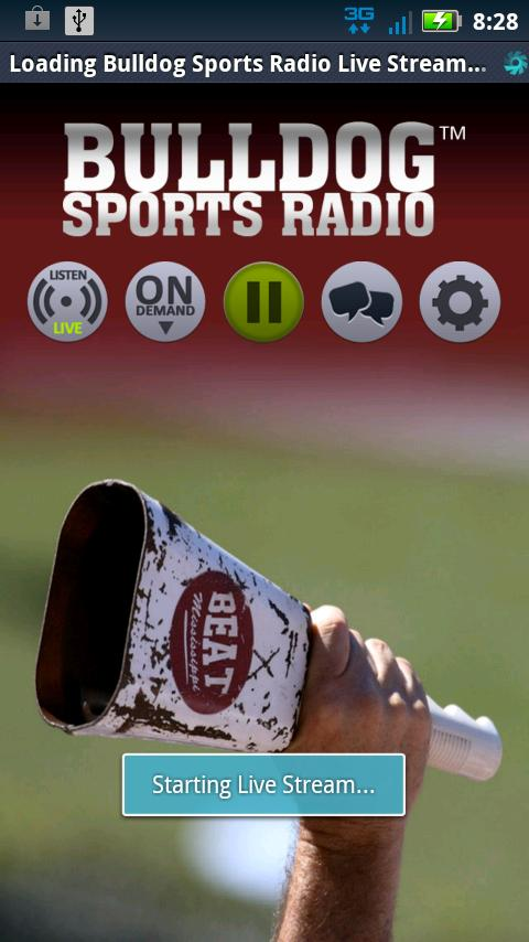 Bulldog Sports Radio - screenshot