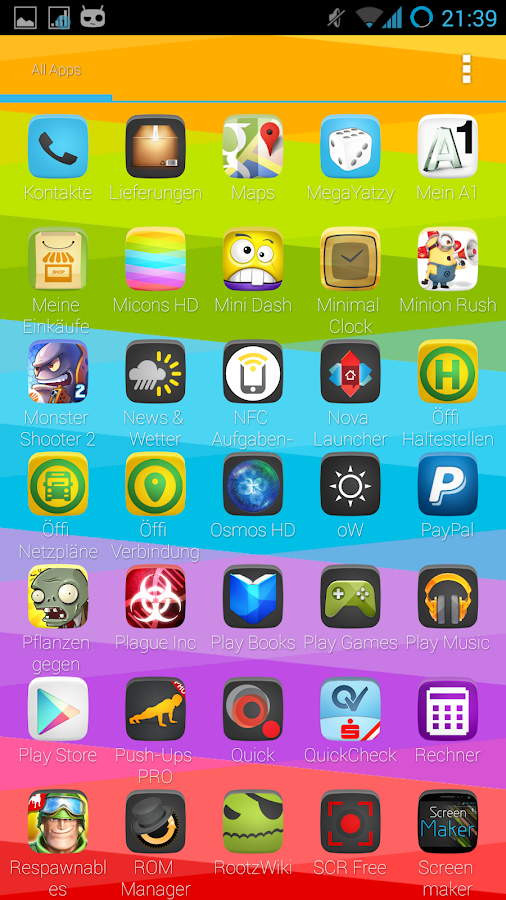 Holofied Icon Pack HD FREE - screenshot