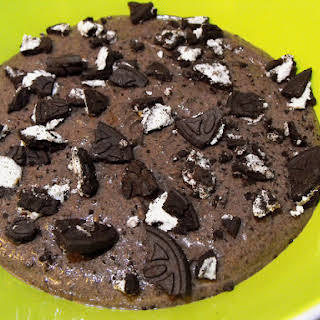 Chocolate Cookie and Greek Yogurt Mousse.