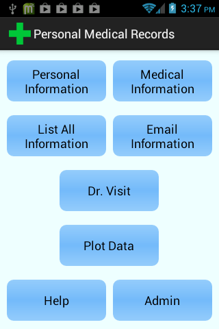 Personal Medical Records 1