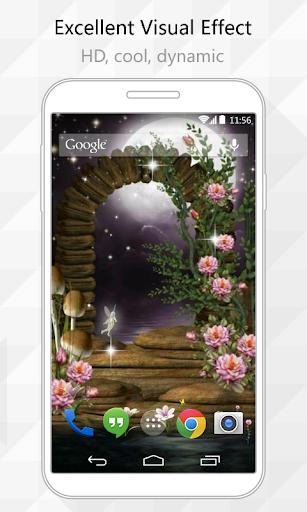 Fairy Gate Live Wallpaper