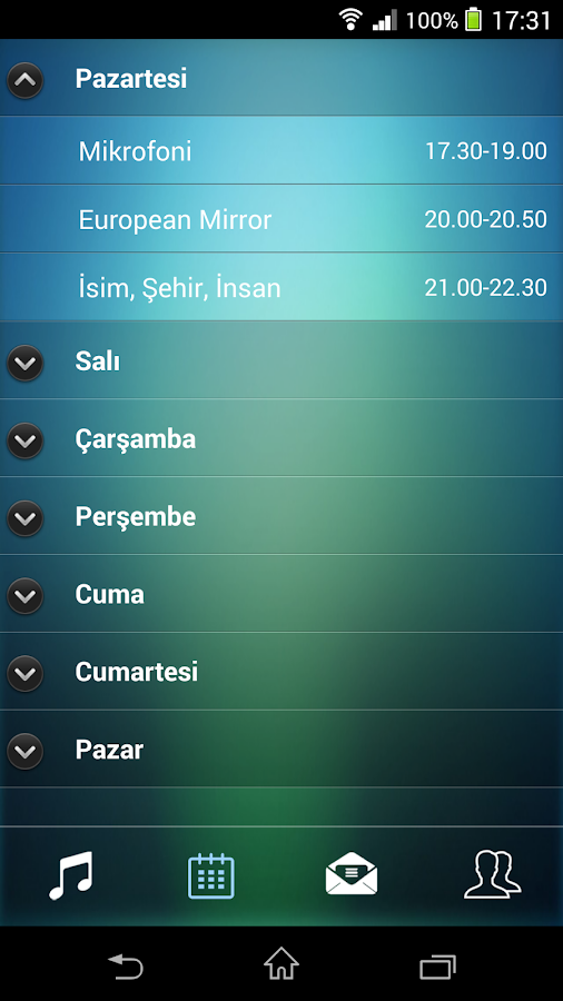 Şehir FM- screenshot