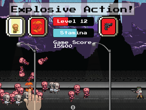 Zombie Rush Infinite Tap