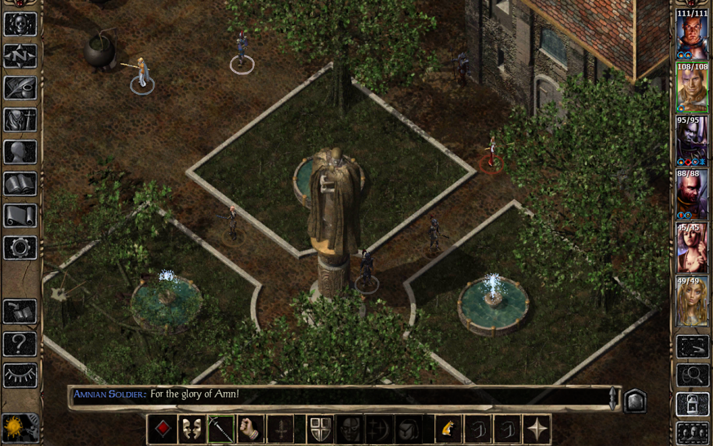 Baldur's Gate II Enhanced Ed.- screenshot