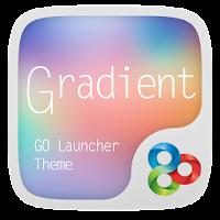 Gradient GO Launcher Theme 2