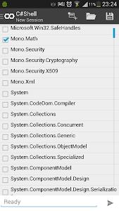 C# Shell (Compiler REPL) v1.7