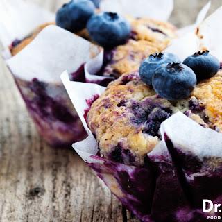 Gluten-Free Blueberry Muffins.