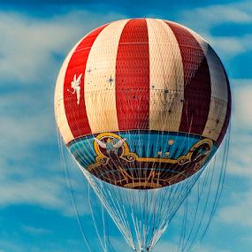 disney hotair balloon by Lennie L. - Transportation Other (  )