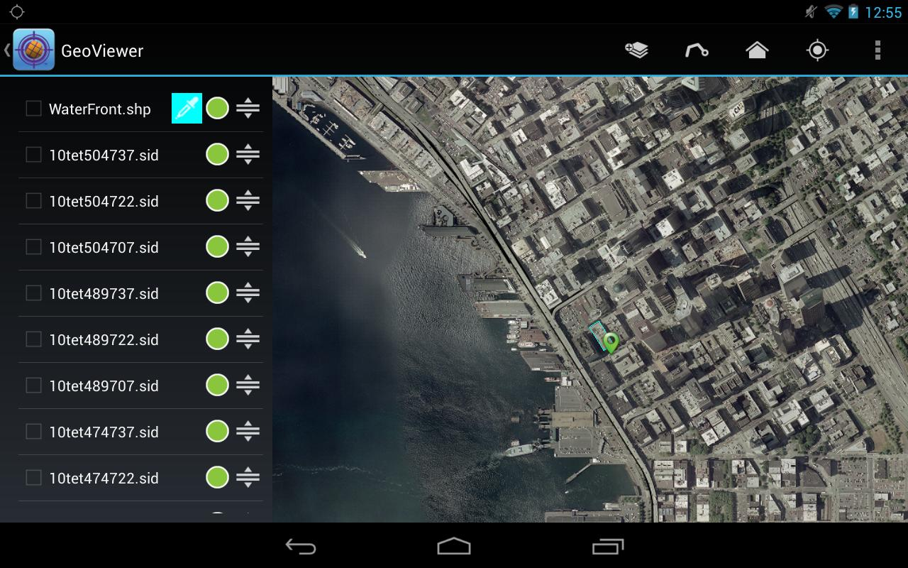 LizardTech GeoViewer- screenshot