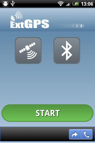 ExtGPS - screenshot